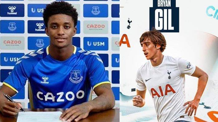 UPDATE Transfer Liga Inggris 2021-2022 Setelah Demarai Gray ke Everton, Bryan Gil Gabung Tottenham