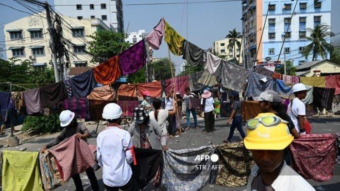 Insiden Berdarah di Myanmar, Pasukan Militer Tembak Mati 13 Demonstran Anti Kudeta