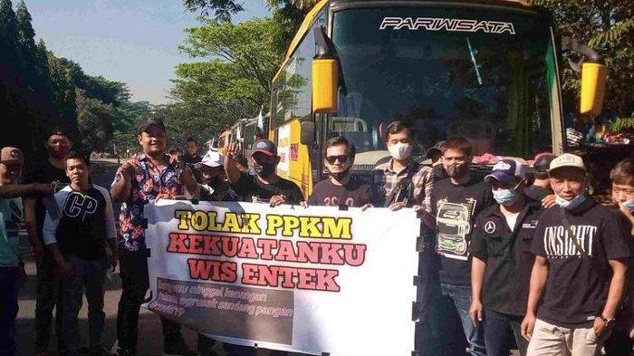 Giliran PO Bus Kibarkan Bendera Putih, Menjerit di Masa Pandemi Tour Leader Menganggur 1,5 Tahun