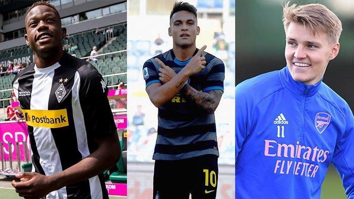 Transfer Arsenal - Denis Zakaria Tertunda, Arsenal Incar Lautaro Martinez dan Martin Odegaard