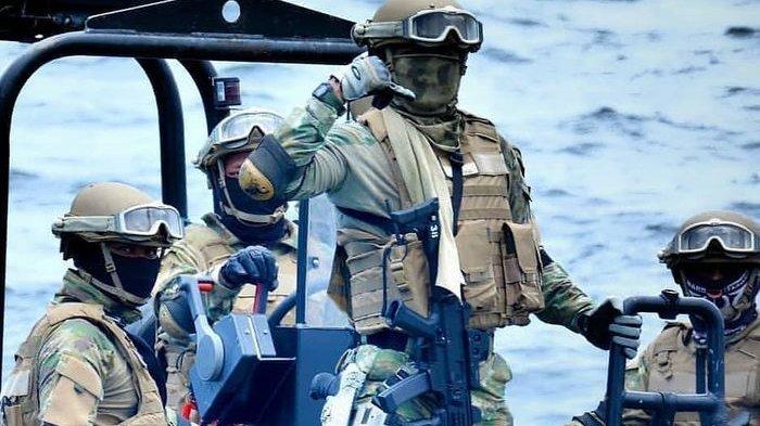 Prajurit Kopaska TNI AL Serka Ismail Muncul seperti Hantu, Komandan Kapal Tempur Malaysia Gemetar