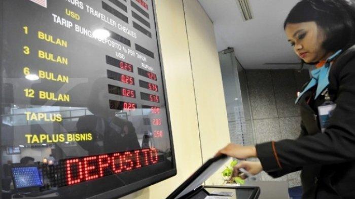 Daftar Bunga Deposito Senin 22 Februari 2021, BCA, BRI, Bank Mandiri 3,25 %, Bukopin 4,88 %