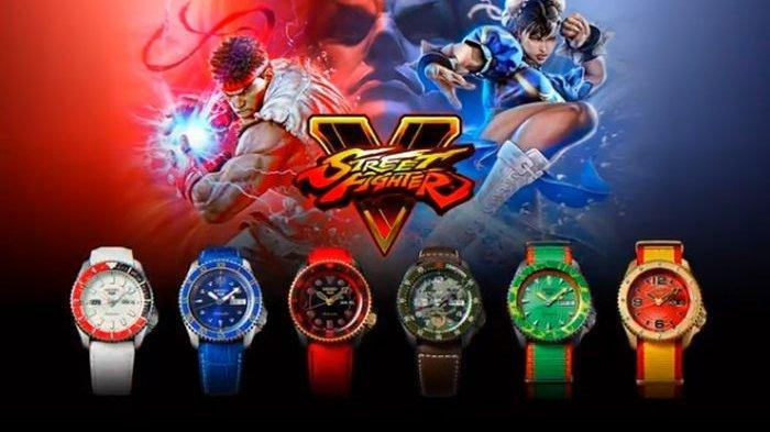 Seiko Bikin Jam Tangan Edisi Khusus Karakter Street Fighter, Tertarik?