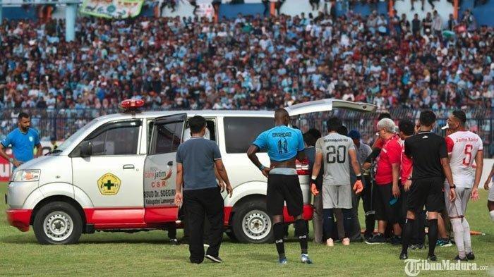 Sempat Dilarikan ke RS, Aleksandar Rakic Ngaku Siap Diturunkan di Laga Persebaya vs Madura United