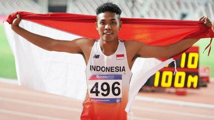 Live Streaming Lalu Muhammad Zohri Sore Ini, Lawan Sprinter Juara Dunia
