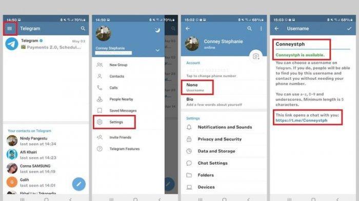 Cara Menambahkan Kontak di Telegram Tanpa Nomor Ponsel