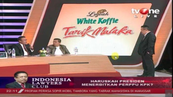 Di ILC, Penasehat KPK Salahkan Jokowi soal Ada Kelemahan KPK, Karni Ilyas Beri 'Pembelaan'