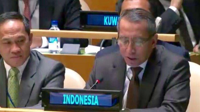 Sosok Dian Triansyah Djani, Presiden Baru Dewan Keamanan PBB dari Indonesia. Sidang Pakai Batik