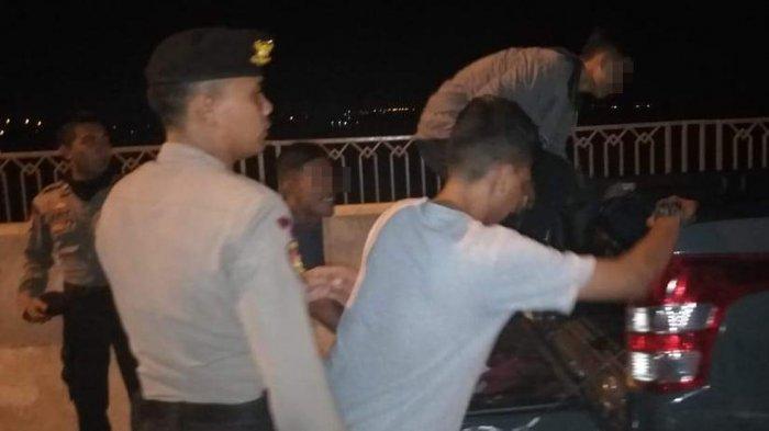 Mabuk di Jembatan Dompak, Enam Pria Ini Digiring ke Mapolres Tanjungpinang