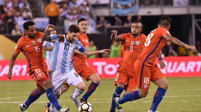 Tanpa Gol Sepanjang Dua Kali 45 Menit, Final Copa America Lanjut dengan Perpanjangan Waktu