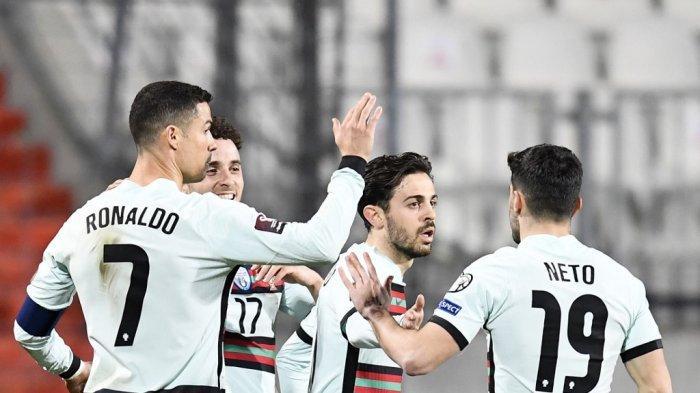 Hasil, Klasemen, Top Skor Kualifikasi Piala Dunia 2022, Portugal & Belanda Menang, Mitrovic 5 Gol