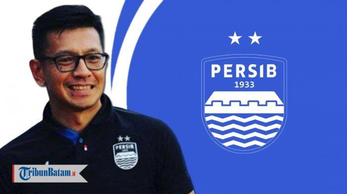Direkutur Persib Bandung, Teddy Tjahjono. Ia memberikan tanggapan terkait dinginnya Persib Bandung di bursa transfer musim 2020.