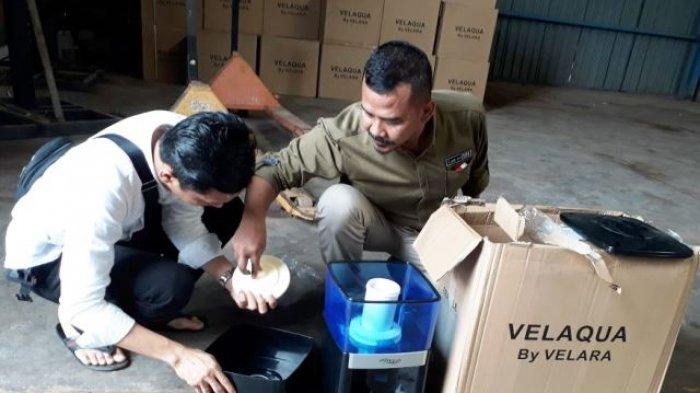 Kasus Barang Tanpa SNI di Gudang Tanjunguncang Diserahkan Polda Kepri ke Polresta Barelang