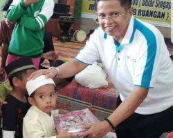BPR Dana Mitra Sukses Gelar Edukasi Perbankan di Panti Asuhan Al-Aqsho Bengkong Sadai