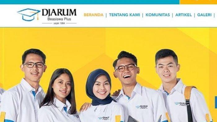 Info Beasiswa Djarum Plus untuk Mahasiswa D4 dan S1
