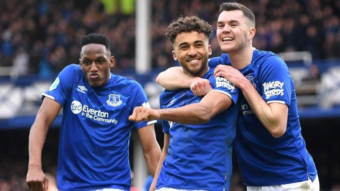 Hasil, Klasemen & Top Skor Liga Inggris Setelah Everton Kalahkan Palace, Calvert-Lewin 11 Gol