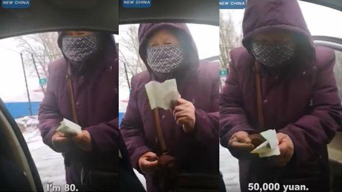Nenek 80 Tahun di China Donasikan Uang 50 Ribu Yuan untuk Korban Virus Corona