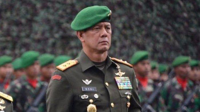 Profil Letjen Doni Monardo yang Akan Dilantik Jadi Kepala BNPB. Lulusan Akmil Tahun 1995