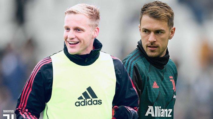 Transfer Juventus - Aaron Ramsey Dijual, Juventus Hubungi Agen Donny Van De Beek