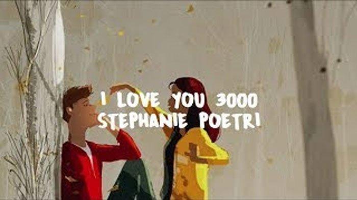 Download MP3 Lagu Stephanie Poetri 'I Love You 3000', Trending di Spotify Lengkap Ada Lirik Lagunya