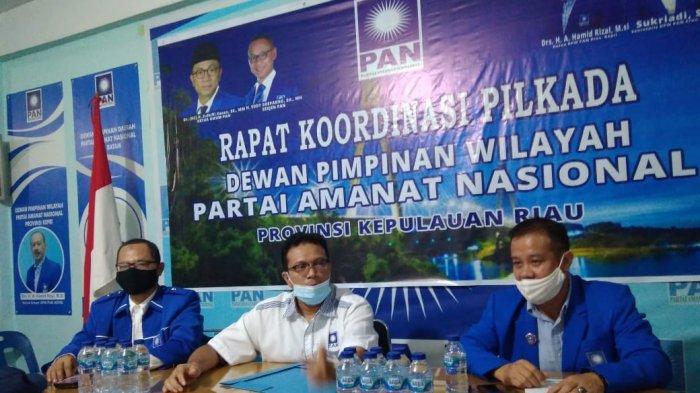 Dibuka Selasa (23/6), PAN Buka Pendaftaran Calon Gubernur dan Wakil Gubernur Pilkada Kepri 2020