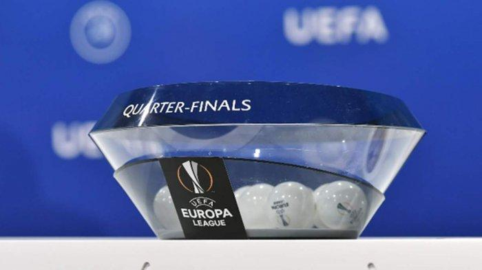 Drawing Perempat Final Liga Europa 2020-2021, Jadwal Perempat Final 8 April dan 15 April