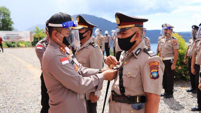 Sertijab Personel Polres Anambas, Kapolres Ucapkan Terima Kasih Atas Pengabdian Anggota Selama Ini