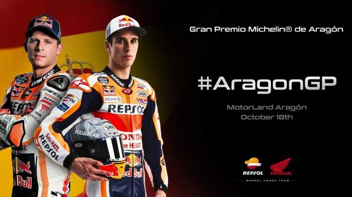 Jadwal MotoGP Aragon 16-18 Oktober 2020, Masih Tanpa Marc Marquez, Honda Berharap pada Alex Marquez