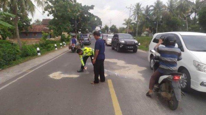 Kecelakaan Maut Pengendara Motor Tewas di Tempat Usai Kepalanya Terhempas di Aspal