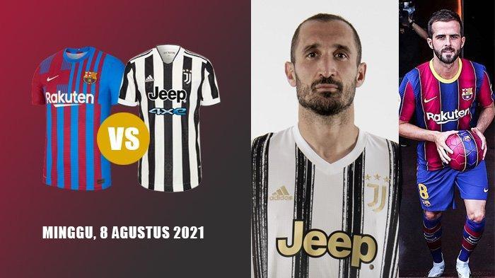 Berita Juventus - Barcelona vs Juventus 8 Agustus, Chielini Teken Kontrak Baru, Pjanic Diburu Inter