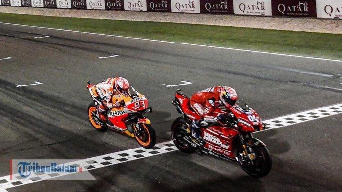 Hasil MotoGP Austria 2019 - Andrea Dovizioso Juara, Disusul Marc Marquez, Rossi Finish Posisi 4