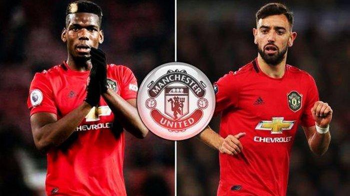 Prediksi Manchester United vs Bournemouth, Paul Pogba dan Bruno Fernandes Terancam Absen