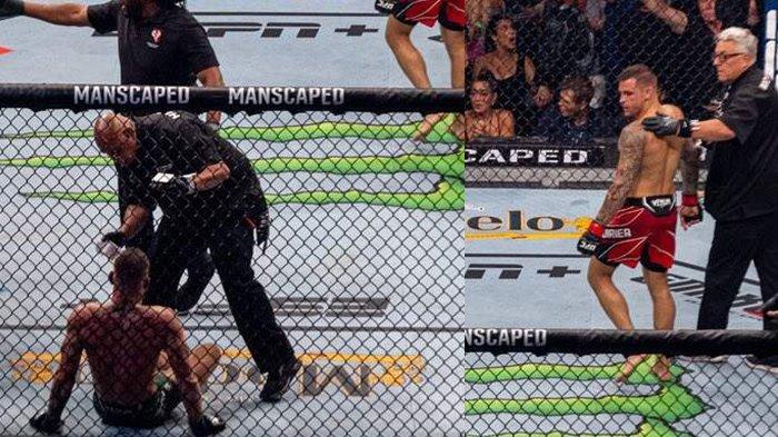 Kemenangan Dustin Poirier Tak Sah, Conor McGregor Tak Terima TKO Kakinya Patah di UFC 264