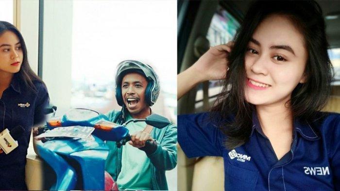 Foto Cantiknya Dwinda Ratna, Reporter Televisi Istri si 'Tukang Ojek Pengkolan', Akui Masih Ngekost