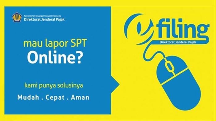 e-filing laporan SPT tahunan
