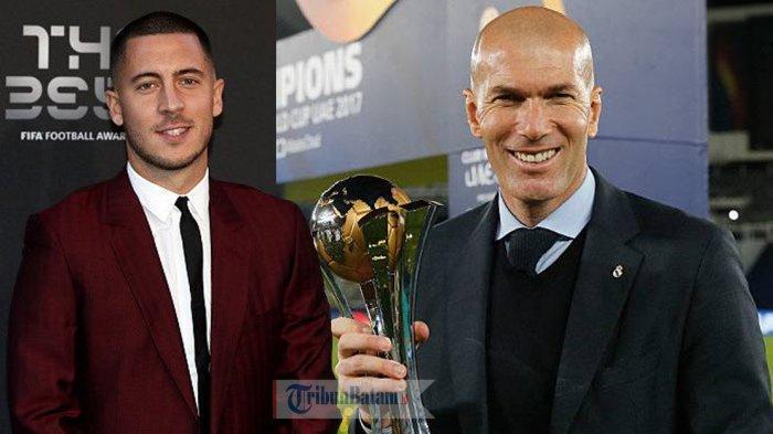 BERITA CHELSEA- Zinedine Zidane Bersedia Latih Chelsea, Syaratnya Eden Hazard & Uang 200 Juta Pounds