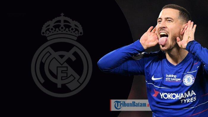 TRANSFER PEMAIN - Real Madrid Dikabarkan Sukses Gaet Eden Hazard dari Chelsea