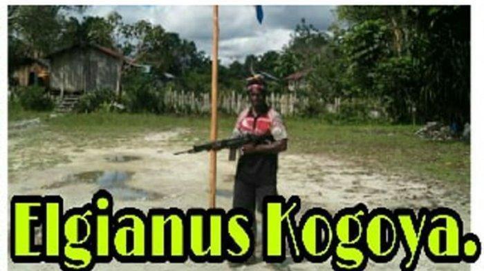 Sosok Egianus Kagoya Pimpinan KKB Papua, Kembali Tantang TNI Polri dan Sebut Medan Perang Miliknya