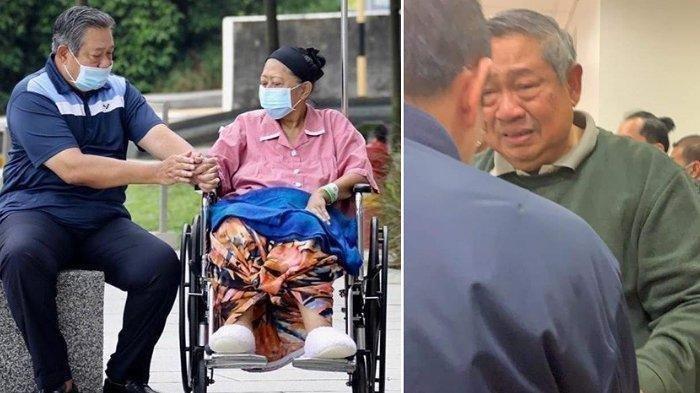 Dua Pekan Berpulang, Foto SBY Termenung Seorang Diri di Makam Ani Yudhoyono Viral, Ini Kata AHY