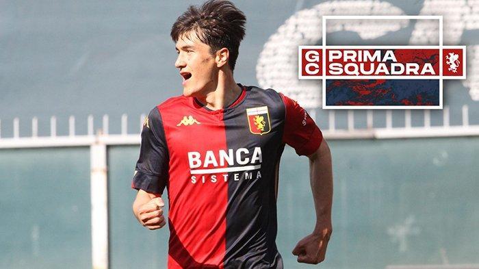 Eldor Shomurodov, striker Genoa asal Uzbekistan