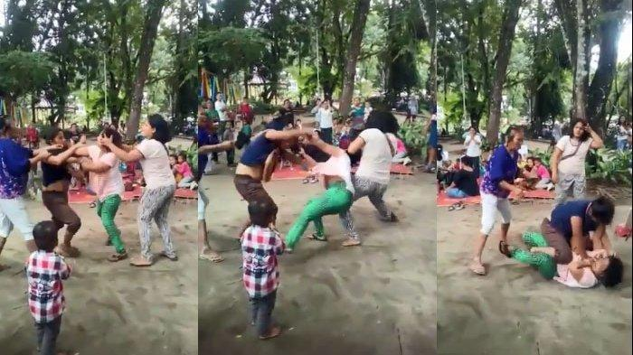 Video Emak-emak Baku Hantam Sampai Busana Terlepas VIRAL, Terungkap Gara-gara Utang Rp 75 Ribu