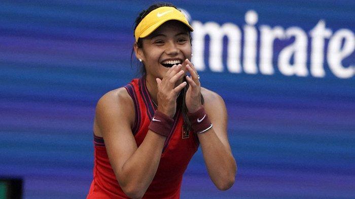 Hasil Tenis AS Terbuka 2021 Kejutan Lagi, Emma Raducanu (18 Tahun) ke Perempatfinal, Djokovic Menang