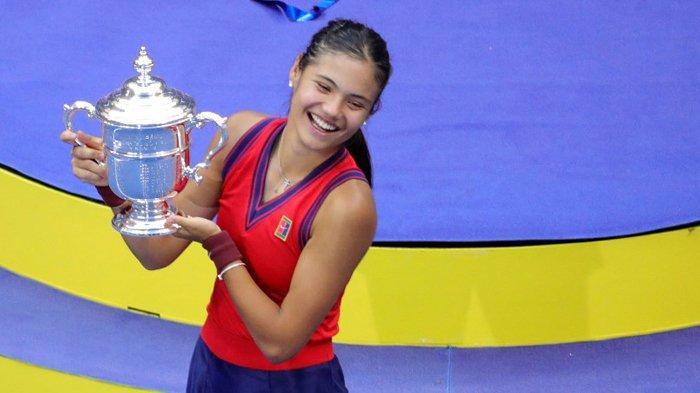 Final AS Terbuka 2021, Remaja 18 Tahun Inggris Emma Raducanu Juara Tunggal Putri US Open 2021