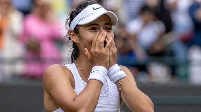 Wimbledon 2021 - Kejutan Berlanjut, Petenis 18 Tahun Inggris Emma Raducanu Lolos ke Babak Keempat