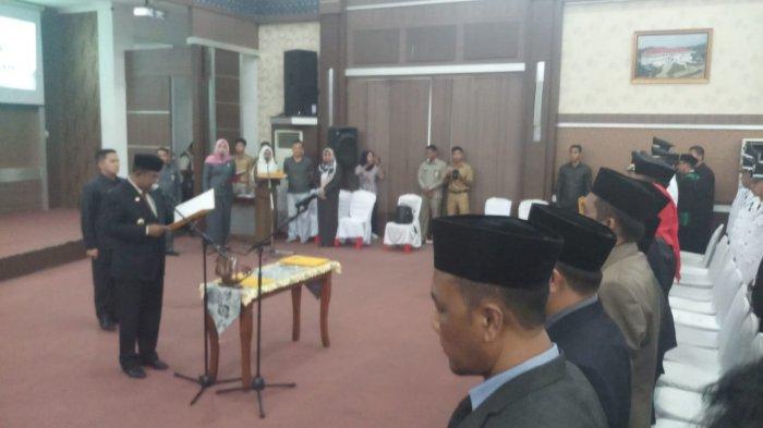 Enam Kepala OPD Dilantik pada Pelantikan Pejabat Eselon Pemkab Karimun