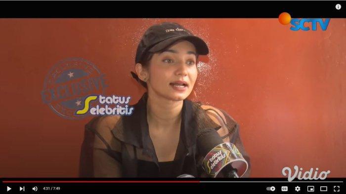 Enzy Storia buka suara terkait kabar kedekatannya dengan Gading Marten.