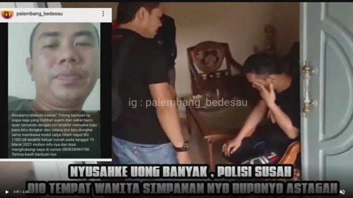 Istri Nyatakan Suami Sempat Hilang, Pria Ini Diam-diam ke Lampung Temui Wanita Selingkuhan