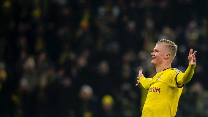 Hasil Bundesliga - Bungkam Dusseldorf, Gol Erling Haaland di Injury Time Menangkan Dortmund