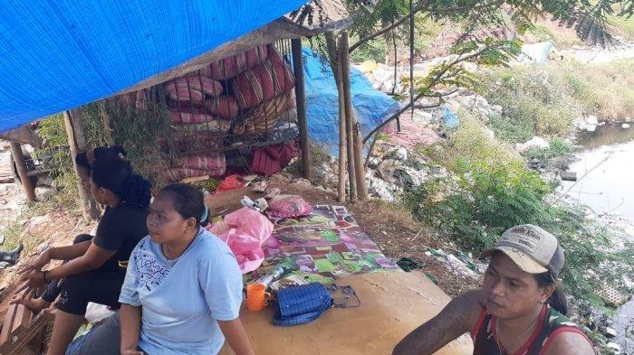 Jeritan Pilu Ibu dan Balitanya Menahan Lapar di Kota Tangerang Carena Covid-19