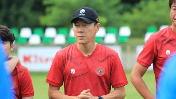 Timnas Indonesia vs Thailand, Tekad Shin Tae-yong Perbaiki Rekor Skuad Garuda